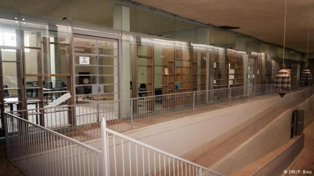 The Ahmed Baba Institute in Timbuktu (photo: DW/P. Breu)