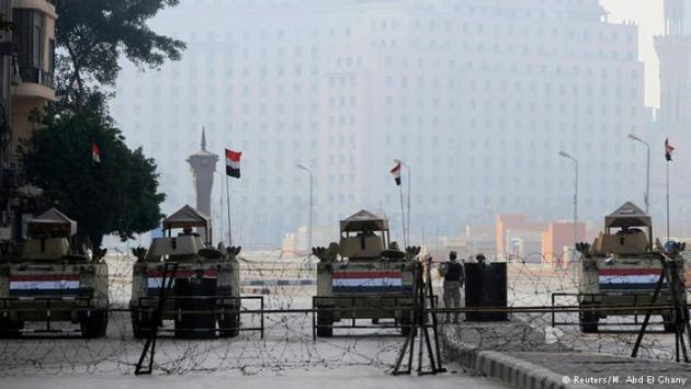 Tahrir Square in Cairo was cordoned off by the army on 25 January 2015 (photo: Reuters/M. Abd El Ghany)