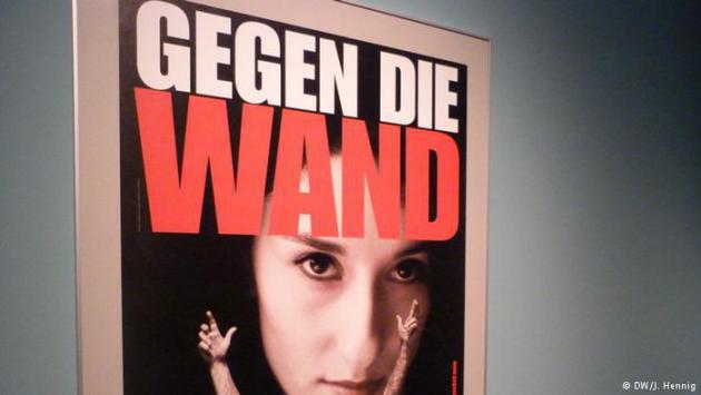 """Film poster for Fatih Akin's film """"Gegen die Wand"""" (photo: DW/J. Hennig)"""