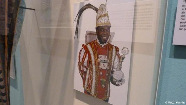 Balam Byarubanga as carnival prince (photo: DW/J. Hennig)