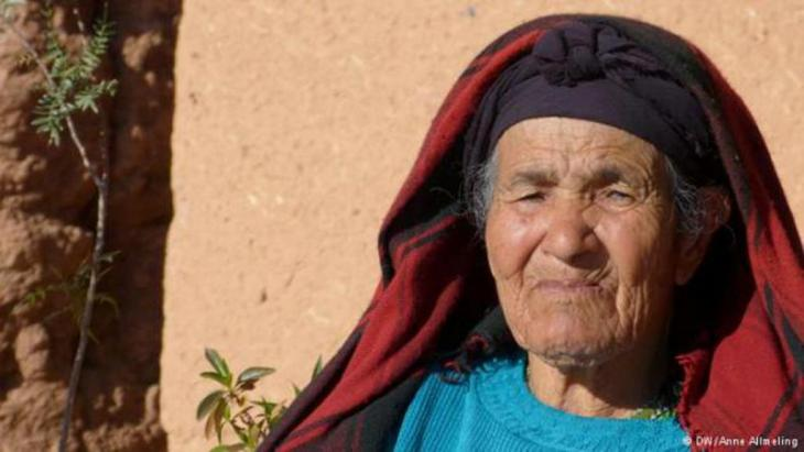 A female resident of Ait-Ben-Haddou (photo: Anne Allmeling)