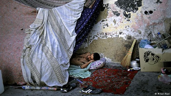 Homeless man (photo: Milad Alaei)