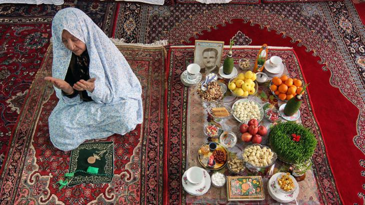 Nowruz in the kurdish-iranian village Toop Aghaj (photo: Jamshid Farajvand Farda)