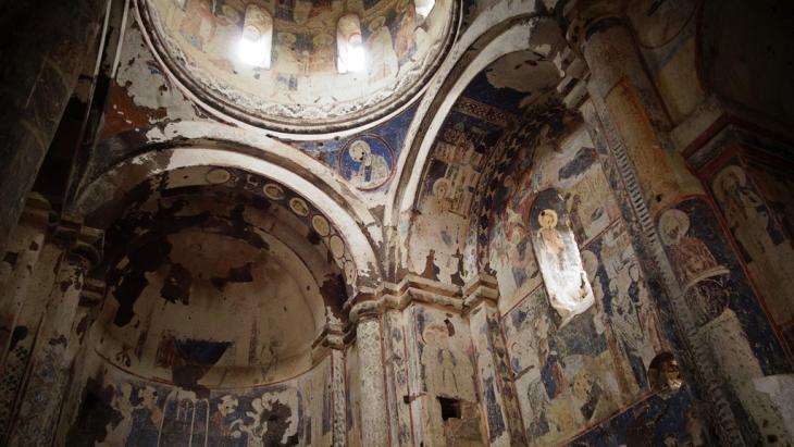 Frescoes in the Church of Saint Gregory (photo: DW/F. Warwick)