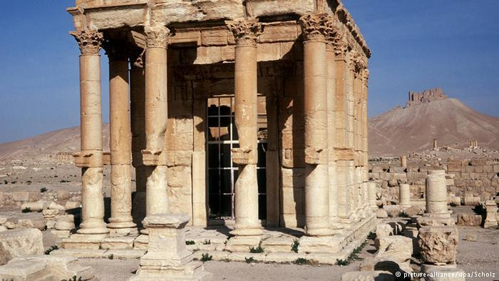 Temple of Baalshamin, god of wind (photo: picture-alliance/dpa/Scholz)