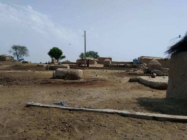 Clay houses, Cholistan desert, Pakistan (photo: Usman Mahar)