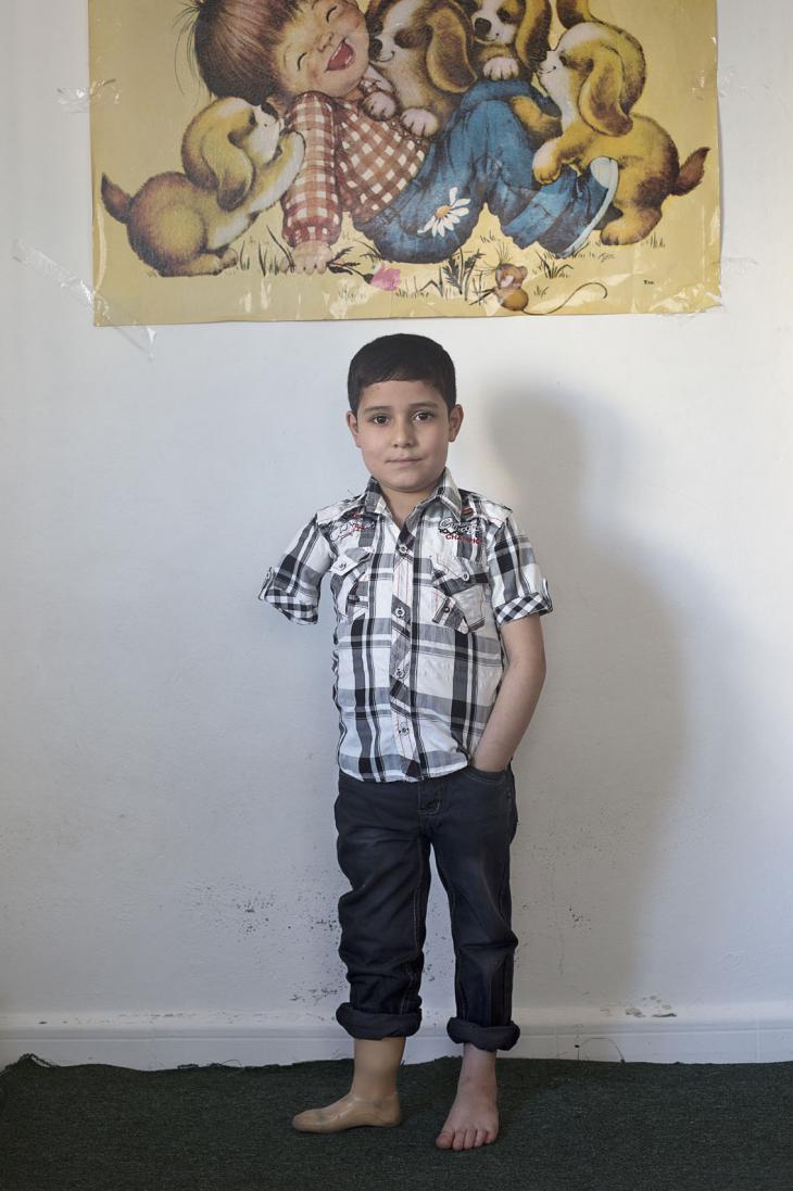 'Ammar, aged 8 (photo: Kai Wiedenhofer)