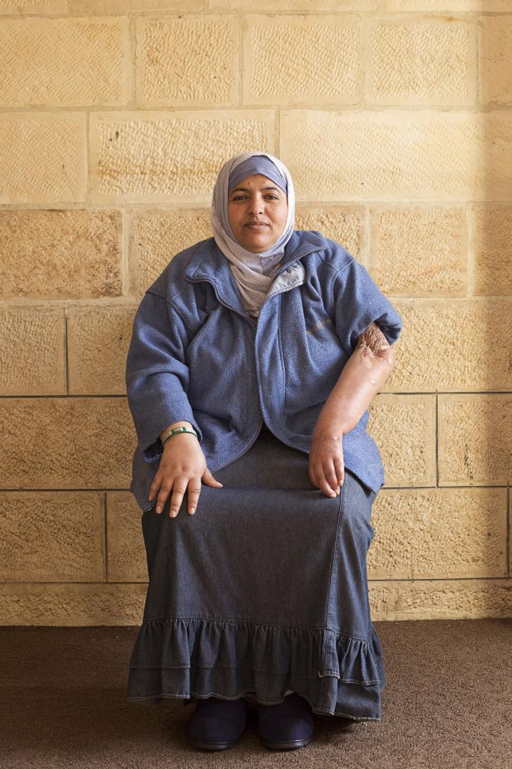 Khadidja, aged 41 (photo: Kai Wiedenhofer)