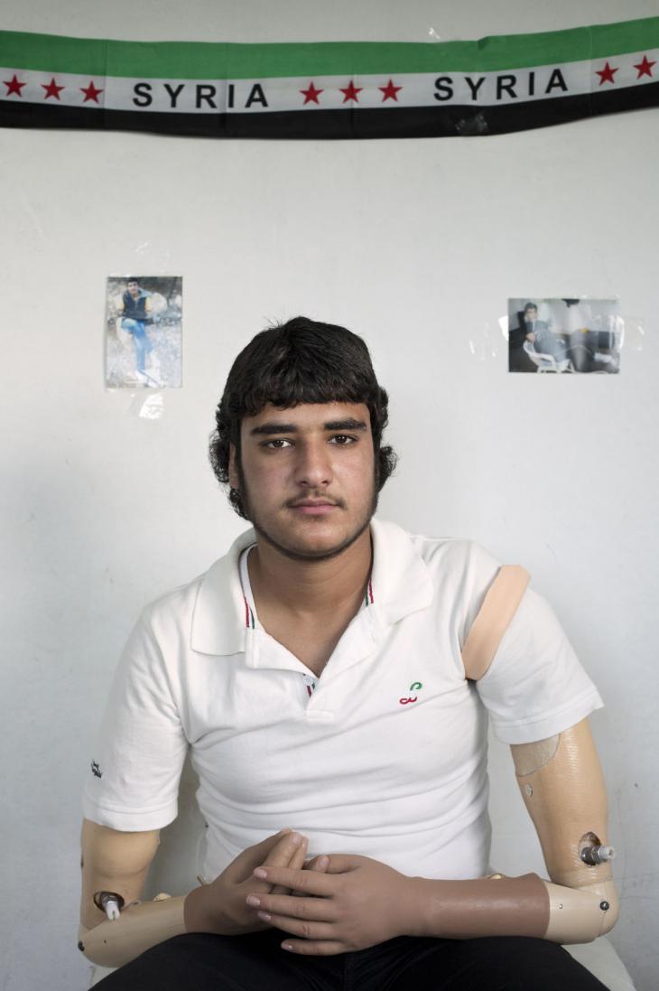 Khalid, 17 (photo: Kai Wiedenhofer)