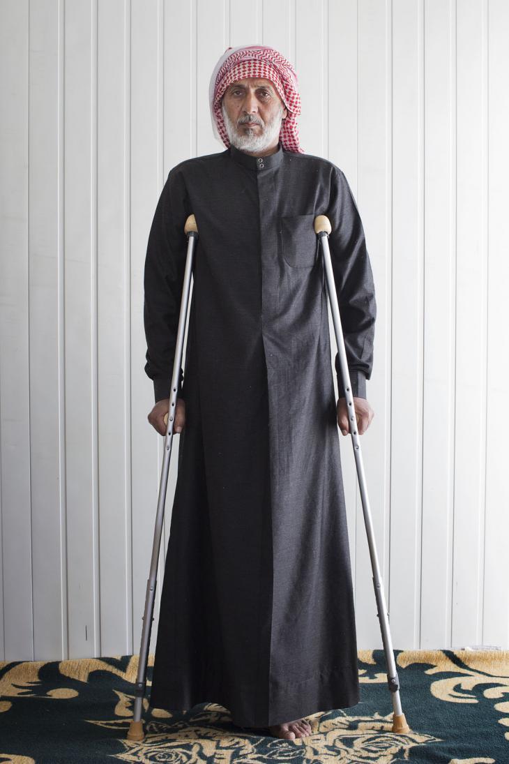 Mahmud, 50 (photo: Kai Wiedenhofer)