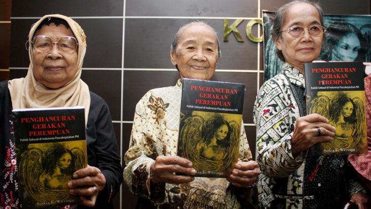 Indonesian women recall the mass murders of 1965 (photo: ANN)