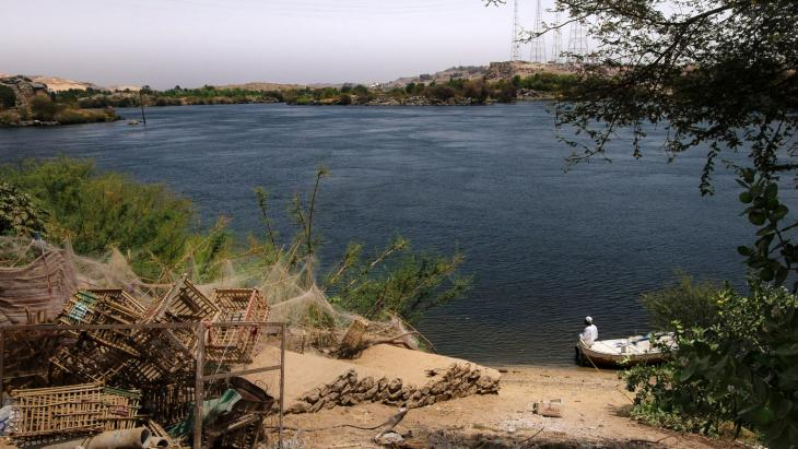 West Suheil, an intact Nubian village not submerged during reservoir construction (photo: Maya Hautefeuille)