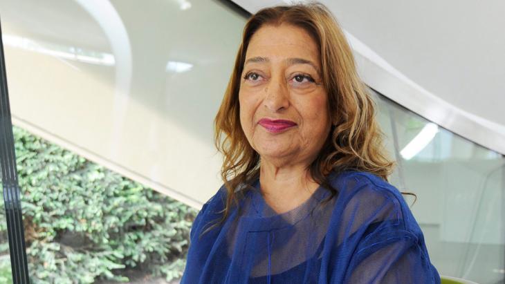 Zaha Hadid (photo: picture-alliance/dpa/F. Arrizabalaga)