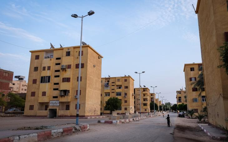 ″New Nubia″ housing estate built to house relocated Nubians (photo: Maya Hautefeuille)