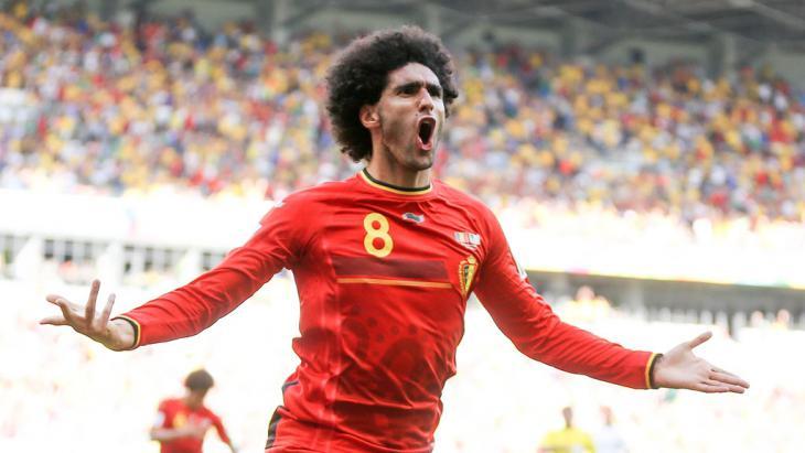 Marouane Fellaini (photo: Gabriel Bouys/AFP/Getty Images)