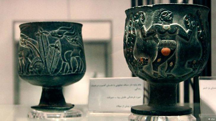 Finds from Jiroft (photo: chn, Hossein Kermani)