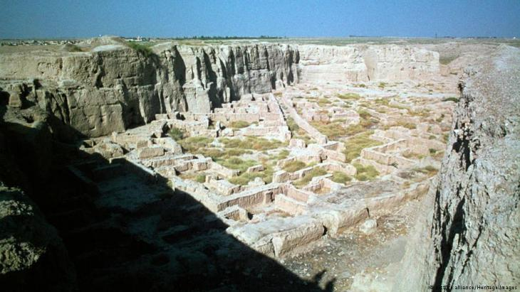 Ruins of the ancient city Susa in today's Shush, Iran (picture alliance/Heritage Images)
