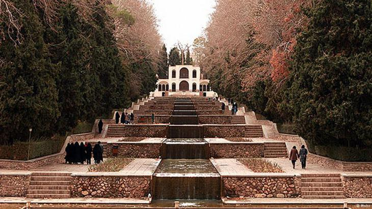 Shazdeh-garden close to Mahan, Kerman (photo: mehr)