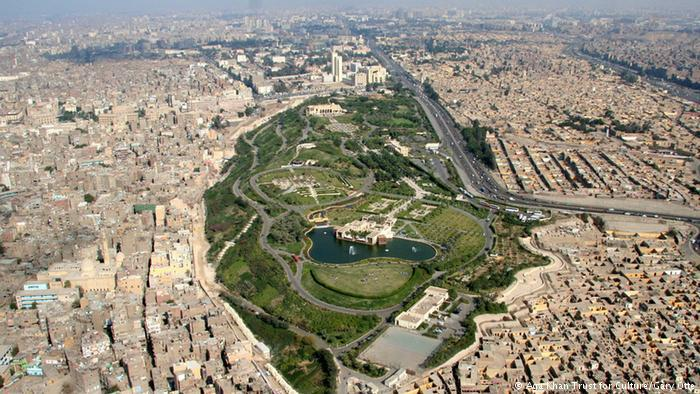 Egypt's Al-Azhar park in Cairo (photo: Aga Khan Trust for Culture/Gary Otte)