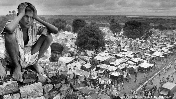 Refugee camp in Delhi during partition of India (photo: picture-alliance/dpa/United Archives/WHA)