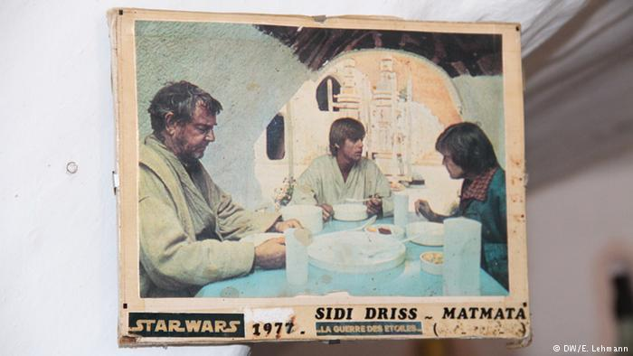 Poster from original Star Wars movie (photo: E. Lehmann)