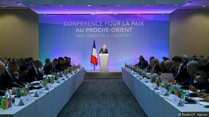 Middle East conference in Paris (photo: Reuters/T. Samson)