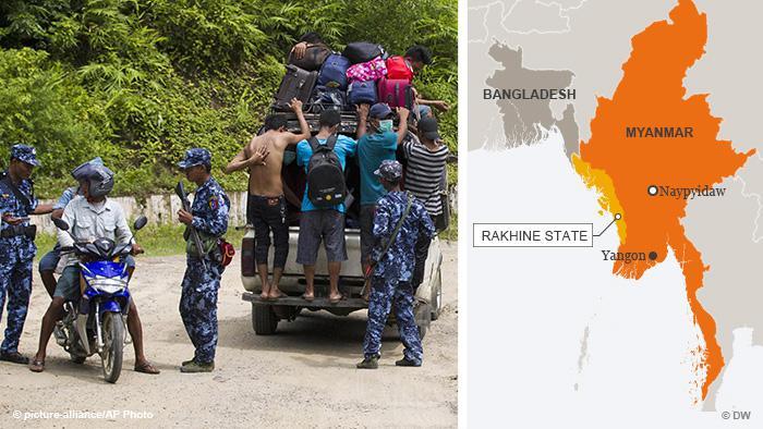 Bangladesh Rakhine refugees