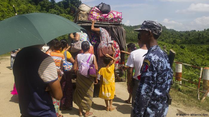 Buddhist refugees