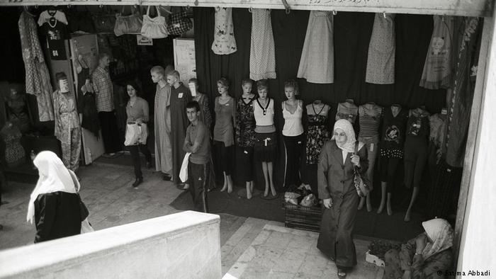 Shoppers in Al-Salt (photo: Fatima Abbadi)