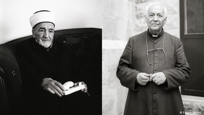 Muslim and Christian religious leaders in Al-Salt (photo: Fatima Abbadi)