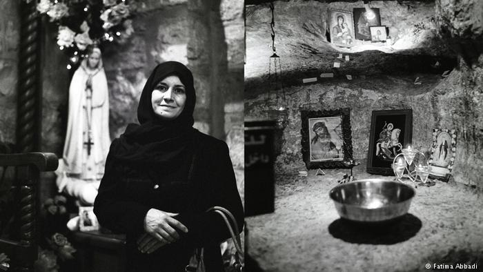 An Al-Salt resident at home (photo: Fatima Abbadi)