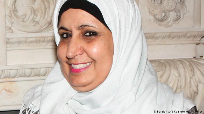 Norah Abdullah Al-Faiz (photo: Foreign and Commonwealth Office)