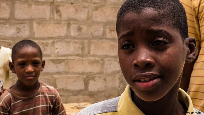 Portrait of Yarg, a boy of 11