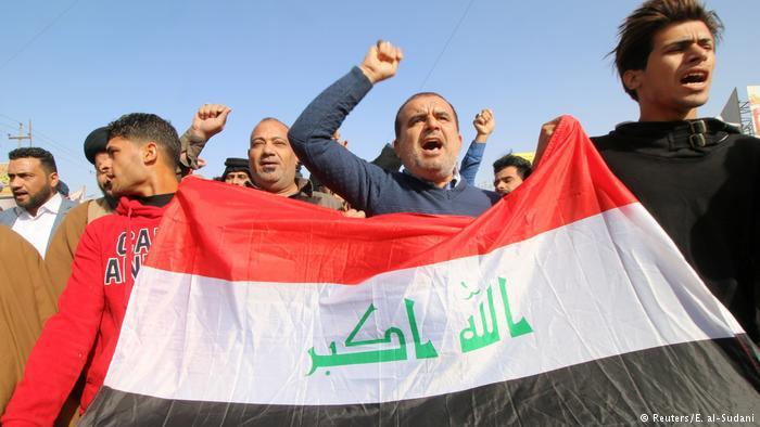 Iraq protests (photo: Reuters/E. al-Sudani)