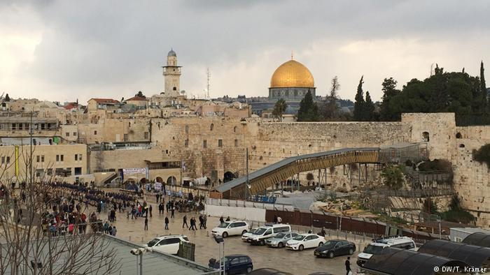 The Temple Mount in Jerusalem (photo: DW/T. Kramer)