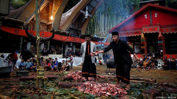 Funeral in Toraja (photo: Darren Whiteside/Reuters)