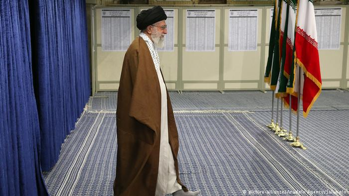 Iran's supreme leader Ayatollah Ali Khamenei (photo: picture-alliance/Anadolu Agency/Salampix)