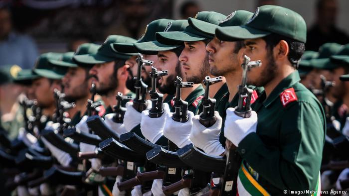 Members of Iran's revolutionary guards (photo: Imago/Mehrnews Agency)