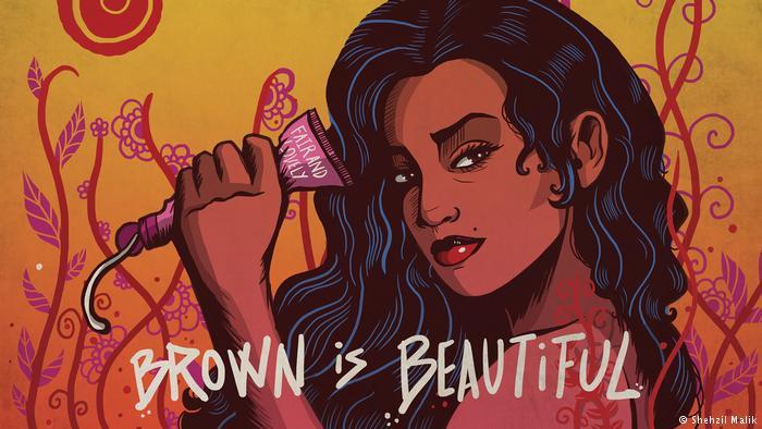 Brown is Beautiful by the Pakistani artist and designer Shehzil Malik (copyright: Shehzil Malik)