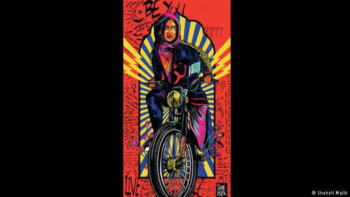 GenerationxShehzil 01 by the Pakistani artist and designer Shehzil Malik (copyright: Shehzil Malik)