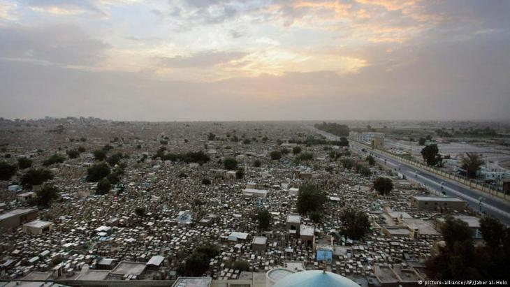 (photo: picture-alliance/AP Photo/Jaber al-Helo)