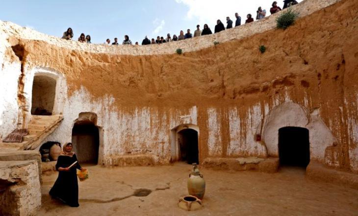 Tunisia: The troglodyte dwellings of Matmata