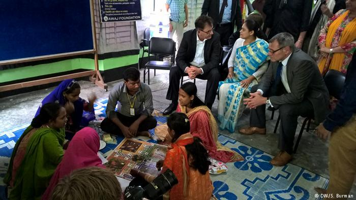 German aid for the Bangladesh textile industry