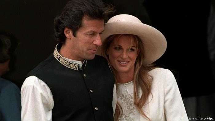Imran Khan marries Jemima Goldsmith (photo: picture-alliance/dpa)