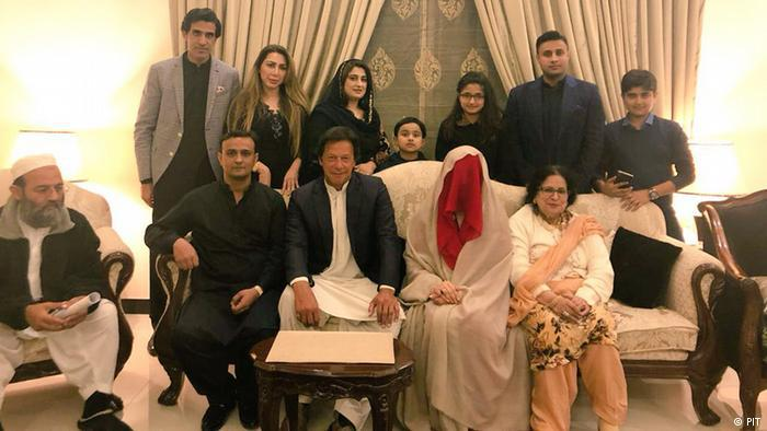 Imran Khan's marriage to Bushra Manika (photo: PIT)