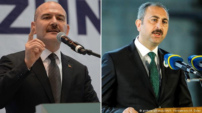 Abdulhamit Gul and Suleyman Soylu