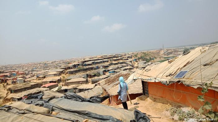 Bangladesh's Kutupalong refugee camp (photo: Zahirul Islam Shimul)
