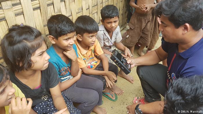 Bangladesh's Kutupalong refugee camp (photo: DW/A. Marshall)
