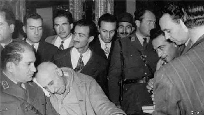 Mohammed Mossadegh following sentencing