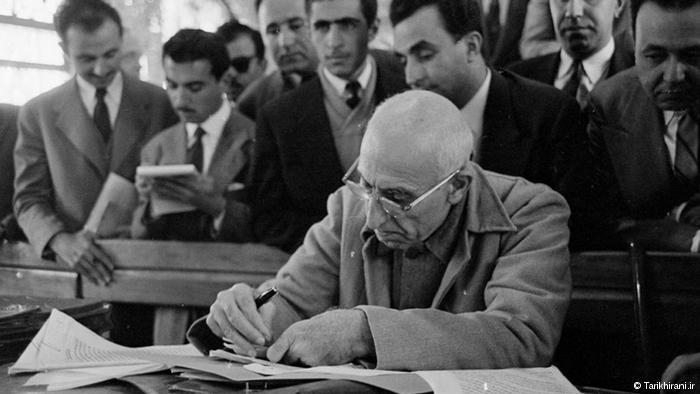 Mohammed Mossadegh, Iran's first and only democratically elected prime minister